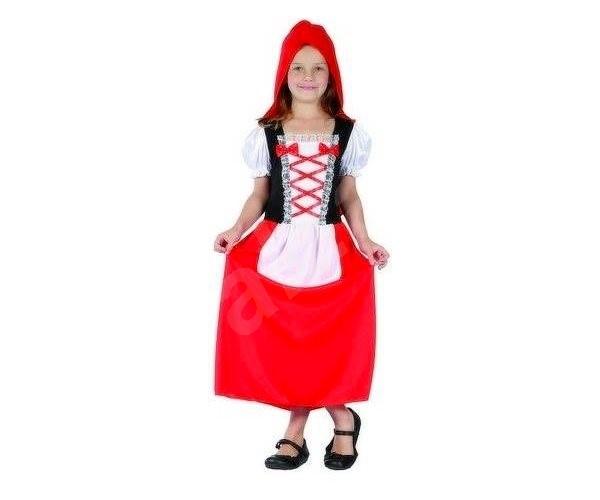 Šaty na karneval – Červená čiapočka veľ. M - Detský kostým 504b0ae30ec