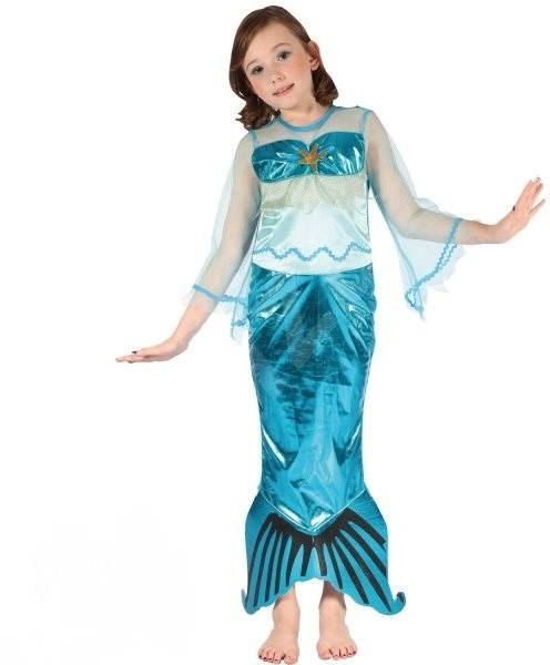 Šaty na karneval – Morská panna veľ. M - Detský kostým  51378b1865b