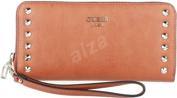 4203d46fae GUESS SG668146 Cognac - Dámska peňaženka
