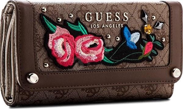 GUESS peňaženka SG699246 brown - Dámska peňaženka  8c6701a405b
