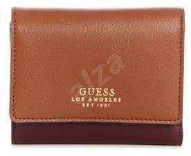 5a16732fb2 GUESS peňaženka VG709643 cognac - Dámska peňaženka