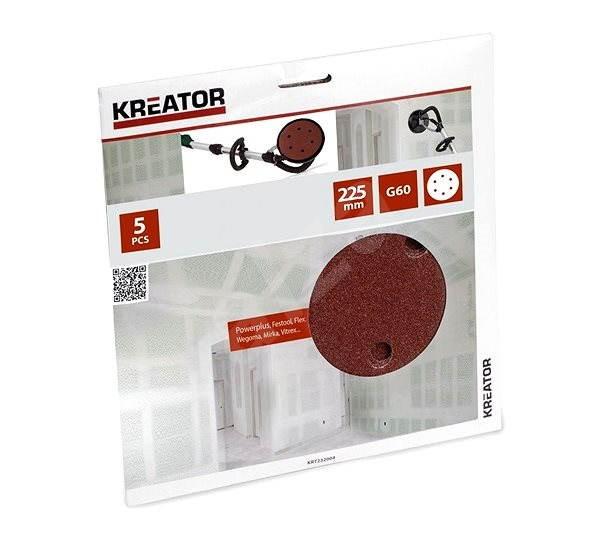 Kreator KRT232004, 225 mm - Brúsny kotúč