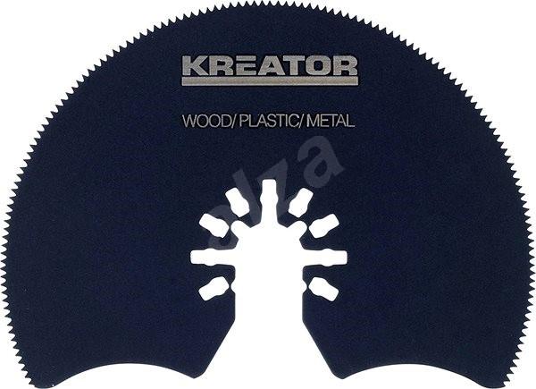 Kreator Segmentový rezný kotúč 87 × 1,4 mm drevo/plast/oceľ - Segmentový pílový kotúč