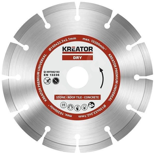 Kreator KRT082103, 150 mm - Diamantový kotúč