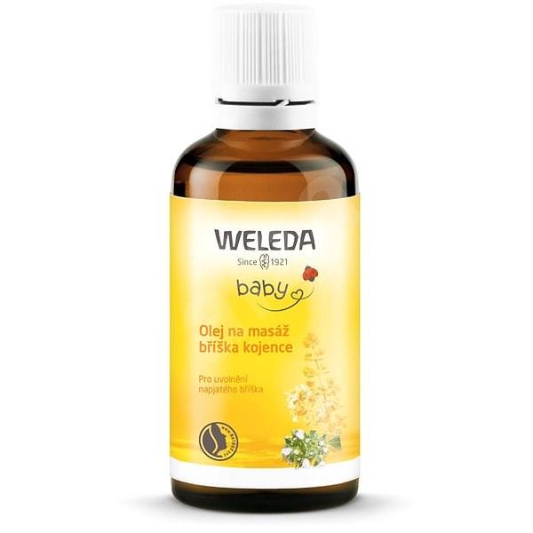 WELEDA Olej na masáž bruška dojčaťa 50 ml - Detský olej
