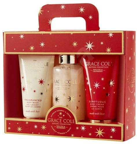 GRACE COLE The Signature Collection Wild Fig and Cranberry Set II. - Beauty Gift Set
