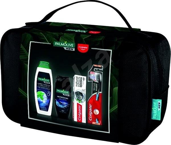 PALMOLIVE Bag + Oral Care Set - Pánska kozmetická súprava