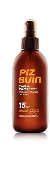 Piz Buin Tan & Protect Tan Accelerating Oil Spray SPF15 150 ml - Sprej na opaľovanie