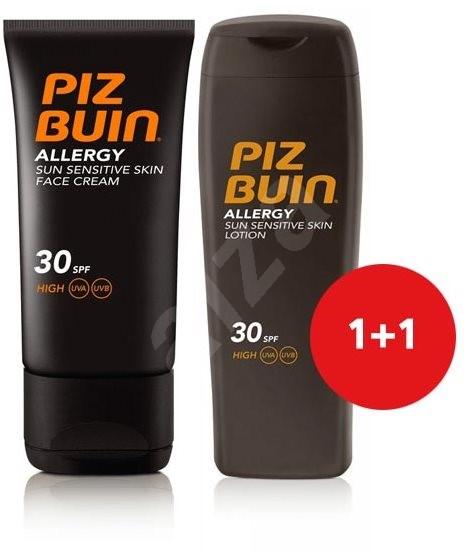 PIZ BUIN Allergy Sun Sensitive Skin Lotion SPF30 + Piz Buin Allergy Sun Sensitive Skin Face Care SP - Kozmetická sada