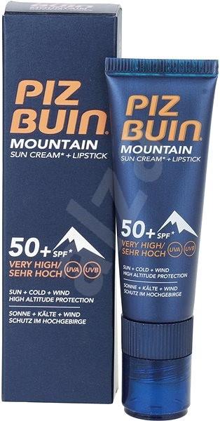 PIZ BUIN Mountain Sun Cream + stick SPF50+ 20 ml - Opaľovací krém