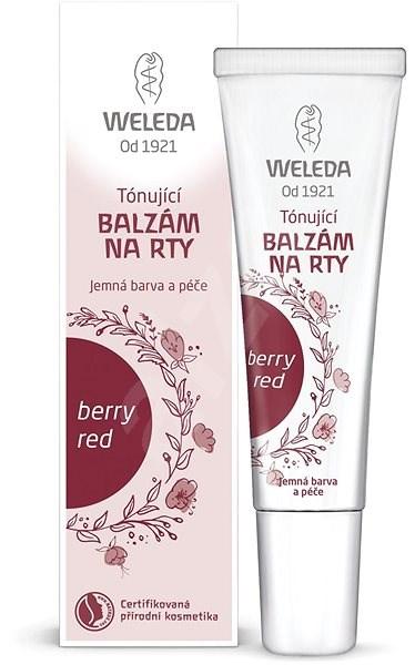 WELEDA Tónujúci balzam na pery berry red 10 ml - Balzam na pery