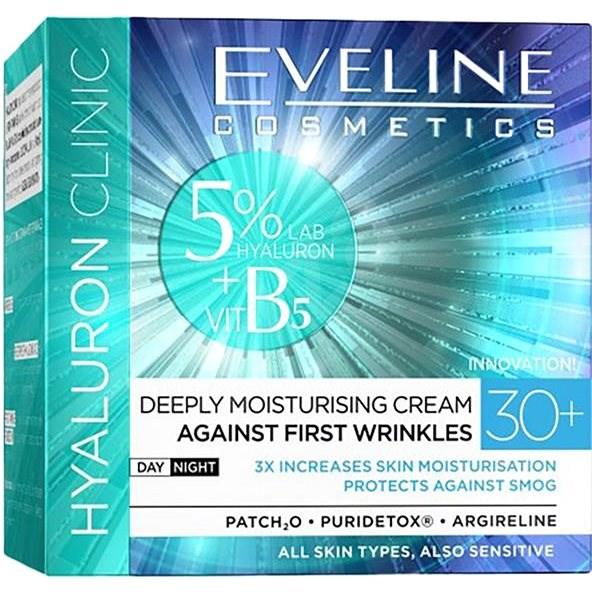 EVELINE Hyaluron Clinic Day And Night Cream 30+ 50 ml - Pleťový krém
