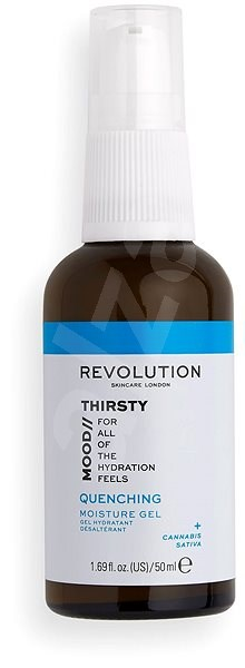 REVOLUTION SKINCARE Mood Quenching Moisture Gel 50 ml - Pleťový gél