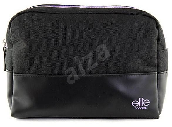 e264525df1 ELITE MODELS Kozmetická taštička cestovný Čierno-fialová - Kozmetická taška