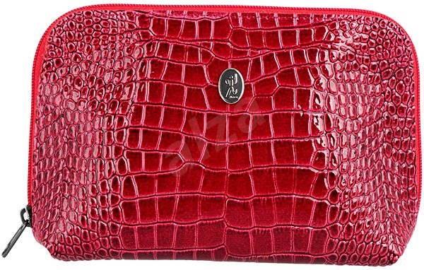 5584e5ef20 DuKaS Kozmetická taštička veľkosť S Vínovo červená - Kozmetická taška