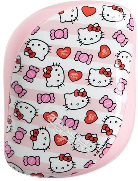 TANGLE TEEZER Compact Styler Hello Kitty Candy Stripes - Kefa na vlasy