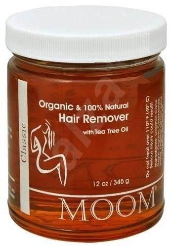 Moom Hair Remover with Tea Tree BIO 345 g - Epilačná pasta