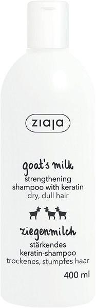 ZIAJA Kozie mlieko Šampón na vlasy s keratínom 400 ml - Šampón