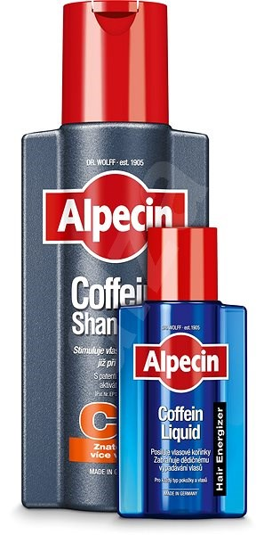 ALPECIN Coffein Shampoo C1 250 ml + Coffein Liquid 75 ml - Pánsky šampón