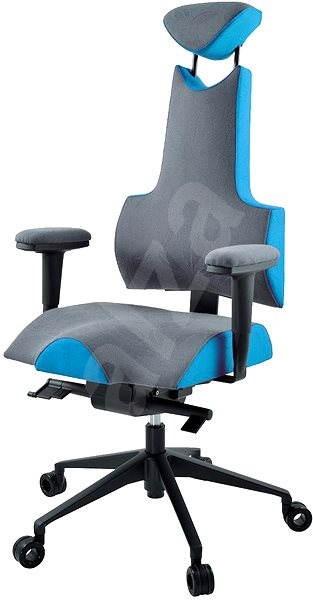 Therapia iENERGY L 6650 sivá / zv. modrá - Kancelárska stolička