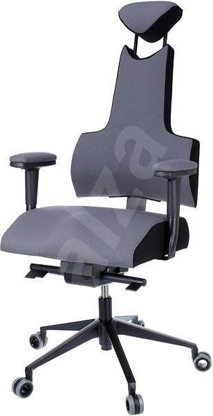Therapia iENERGY XL 6660 sivá / čierna - Kancelárska stolička