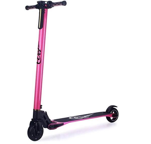Eljet Carbon light pink - Elektrická kolobežka