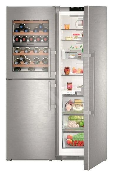 LIEBHERR SBSesf 8486 - Americká chladnička