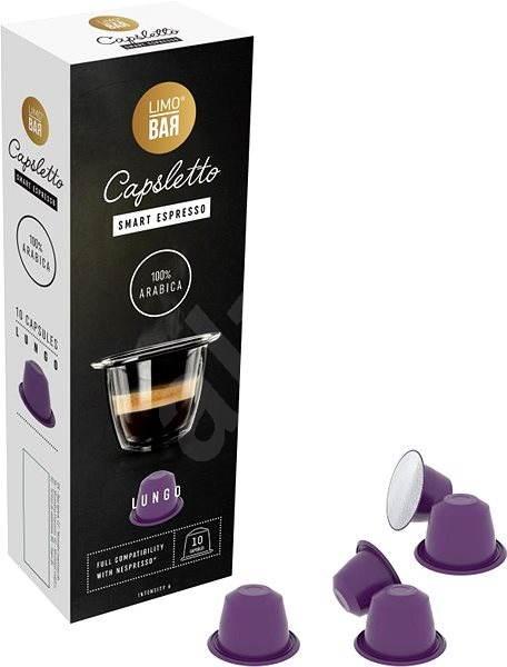 LIMO BAR Capsletto Lungo - Kávové kapsuly