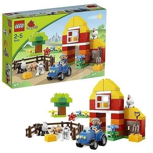 LEGO Duplo 6141 Moje první farma - Stavebnice