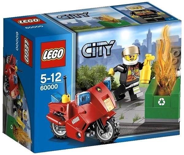 LEGO City 60000 Hasičská motorka - Stavebnica