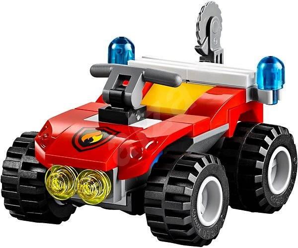 LEGO City 60105 Hasiči, Hasičské terénne vozidlo - Stavebnica