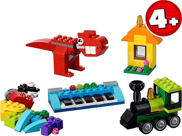 LEGO Classic 11001 Kocky a nápady - LEGO stavebnica