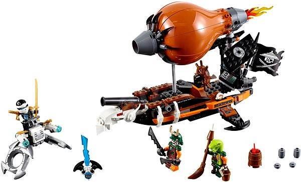 LEGO Ninjago 70603 Útočná vzducholoď - Stavebnica