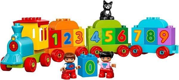 LEGO DUPLO My First 10847 Vláčik s číslami - Stavebnica