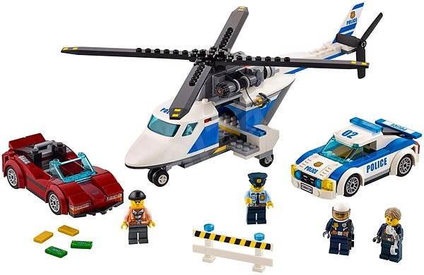 afae558ed LEGO City 60138 Naháňačka vo vysokej rýchlosti - Stavebnica | Alza.sk