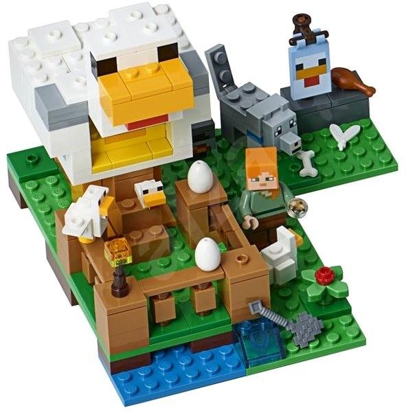 LEGO Minecraft 21140 Kurník - Stavebnica