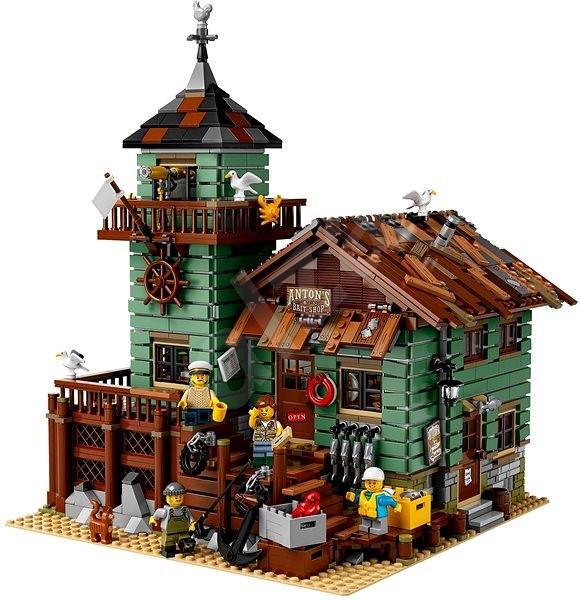 f3c7e4b44b3d LEGO Ideas 21310 Starý rybársky obchod - Stavebnica