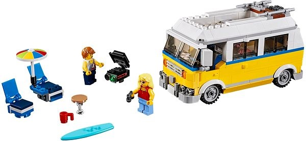 32ff4320b LEGO Creator 31079 Surferská dodávka Sunshine - Stavebnica   Alza.sk