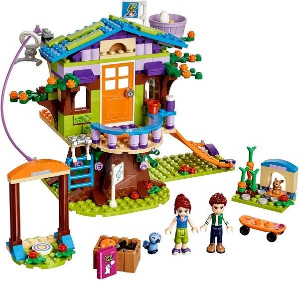 Lego Friends 41335 Mia A Jej Domček Na Strome Stavebnica Alzask