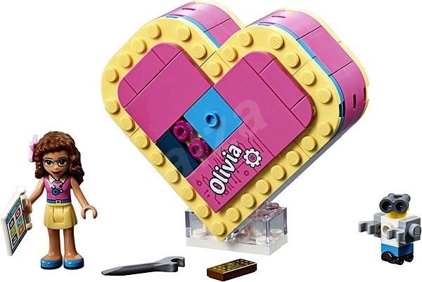 LEGO Friends 41357 Oliviina srdcová škatuľka - Stavebnica