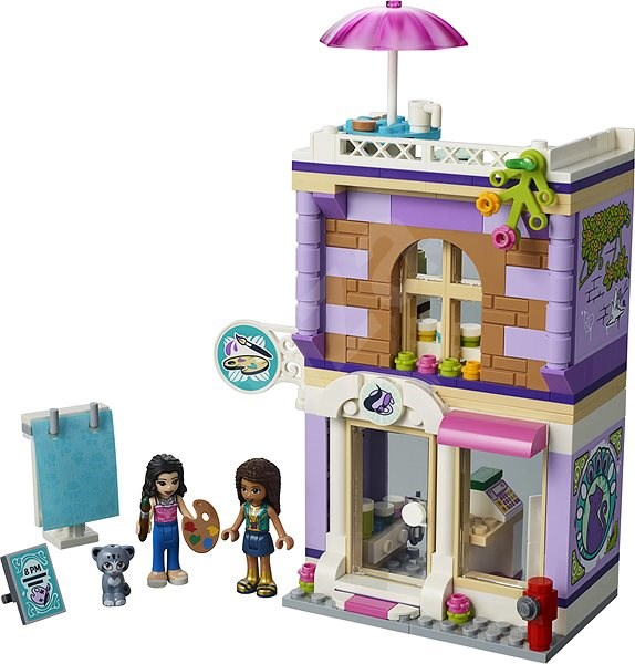 Lego Friends 41365 Emma A Umelecké štúdio Stavebnica Alzask