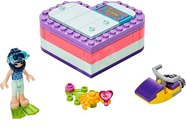 LEGO Friends 41385 Emma a letná srdcová škatuľka - Stavebnica