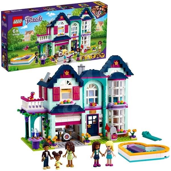LEGO Friends 41449 Andrea a jej rodinný dom - LEGO stavebnica