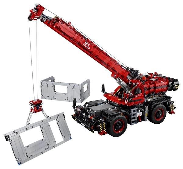 LEGO Technic 42082 Terénny žeriav - Stavebnica