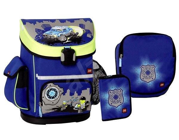 LEGO Active CITY POLICE 3-dílný set - Školský batoh