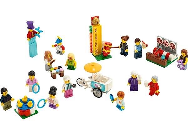 770c4779b LEGO City Town 60234 Súprava postáv – Zábavná púť - Stavebnica | Alza.sk