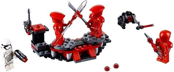 LEGO Star Wars 75225 Bojový balíček elitnej pretoriánskej stráže - Stavebnica
