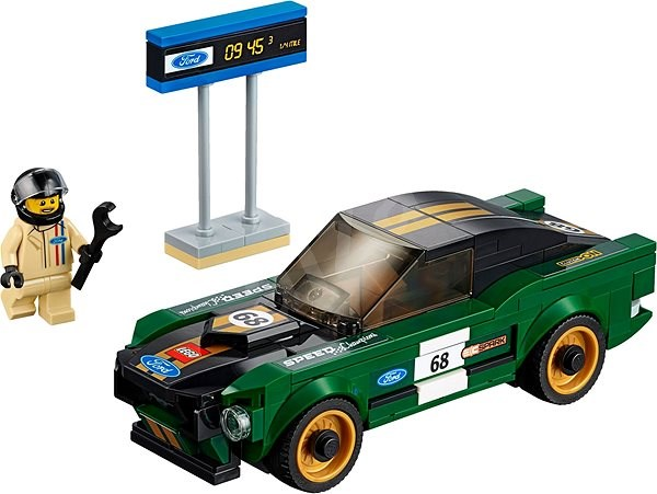 38559bf2cb LEGO Speed Champions 75884 1968 Ford Mustang Fastback - Stavebnica ...