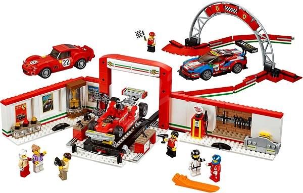 LEGO Speed Champions 75889 Úžasná garáž Ferrari - Stavebnica