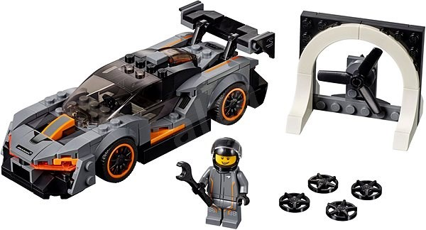 LEGO Speed Champions 75892 McLaren Senna - Stavebnica